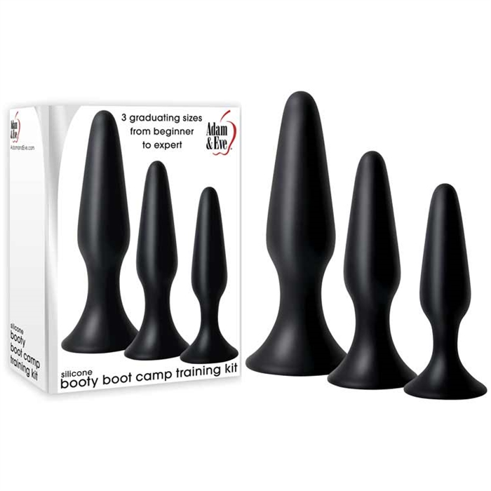 SILICONE BOOTY BOOT CAMP TRAINING KIT BLACK