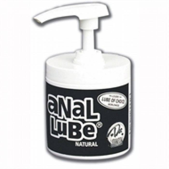 ANAL LUBE NATURAL 6 OZ