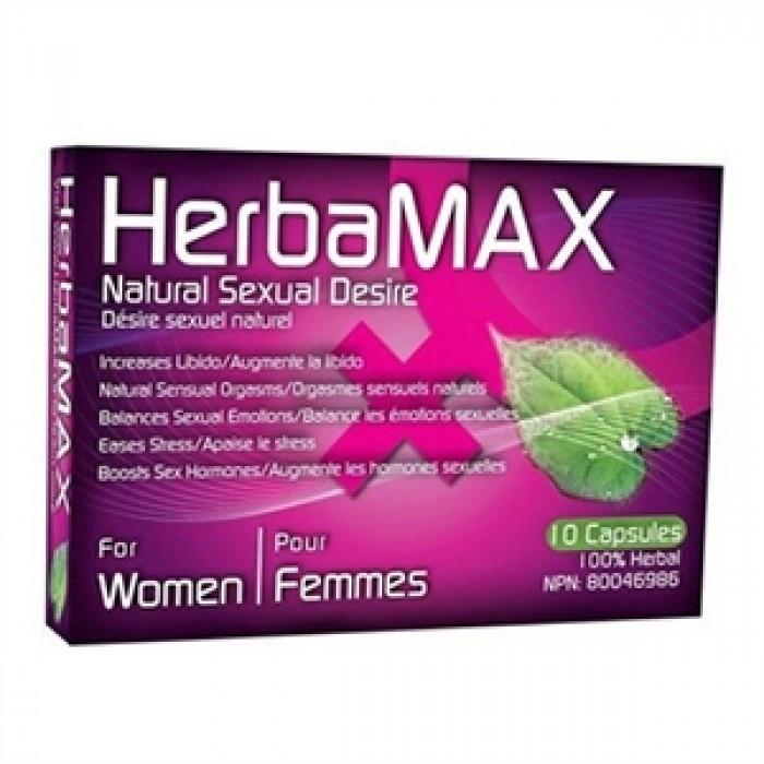 HERBAMAX FEMME 10 CAPSULES