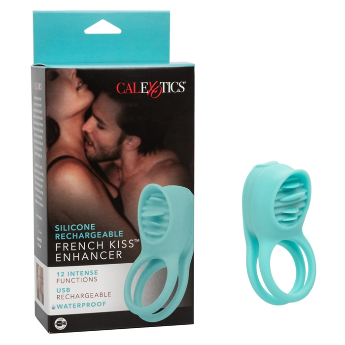 Silicone Rechargeable French Kiss Enhancer