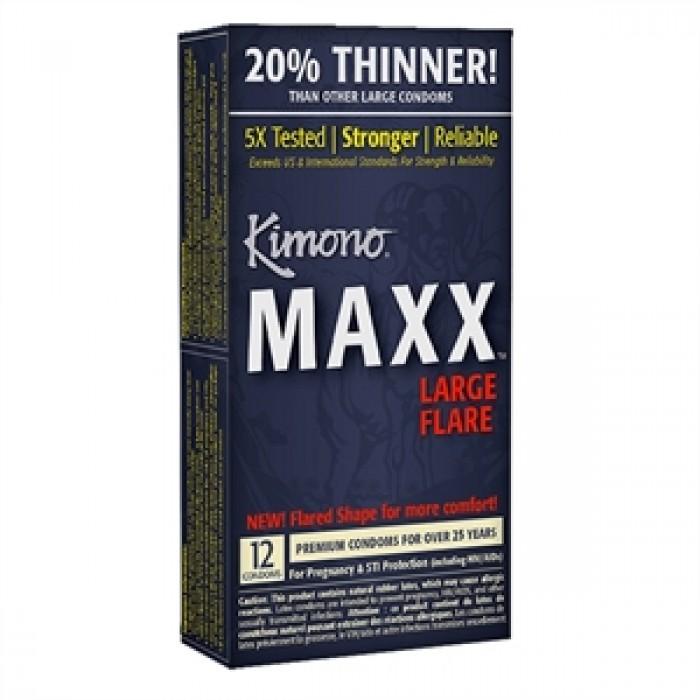 KIMONO MAXX LARGE FLARE BOX 12 UNITS